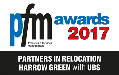 Harrow Green wins Partners in Relocation category at PFM Awards 2017